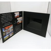 Buy cheap 7 Inch Europe Style Lcd Video Card / Laser Cut Wedding Lcd Invitation Card product