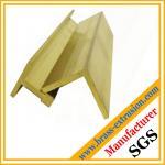Buy cheap leaded brass L shape T shape angle profiles product