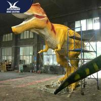 Buy cheap Waterproof Dinosaur Park High Quality Equipement Life Size Realistic Dinosaur Models product