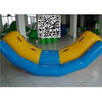 Quality Children PVC Material Floating Seesaw Inflatable Boat For Water Games for sale