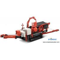 Buy cheap Quarry Crawler Mobile Rock Crusher 800 Tph Easy Maintenance 1 Year Warranty product