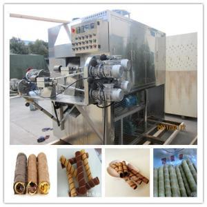 機械を中国製作る卵ロール