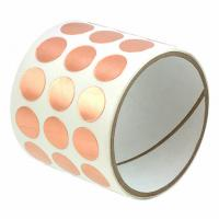 Buy cheap Die Cutting Copper Foil EMI RFI Shielding Tape With Conductive Adhesives product
