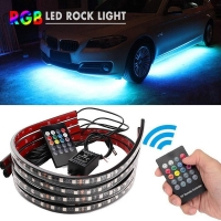Buy cheap Wireless  Multicolor 5050 4pcs Car Underbody Lights product
