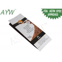 1000g Refreshing Coffee Bean Packing Pouch /  Individually Wrapped Tea Bags Heat Sealed