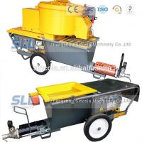 Buy cheap Exterior wall plastering pumping cement mortar mixer sprayer for house building from wholesalers