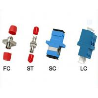 Buy cheap CATV Fiber Optic Adapter FC ST SC LC Simplex / Duplex Metal Optical Adapters product