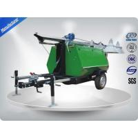 China Portable LED Light Towers / Telescoping Mast Trailer Mounted Light Towers on sale