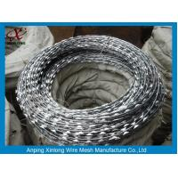 Buy cheap Multi Type Stainless Steel Razor Wire / Barbed Wire Roll For Grass Boundary product