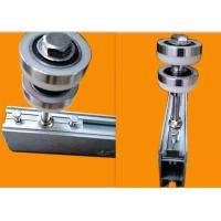 Buy cheap Durable Glass Wall Hardware Track Long Working Life Aluminium Alloy Material product