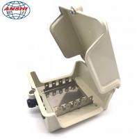Buy cheap 50 Pairs Outdoor Copper Cable Distribution Box DP Internal Box With Key Lock product