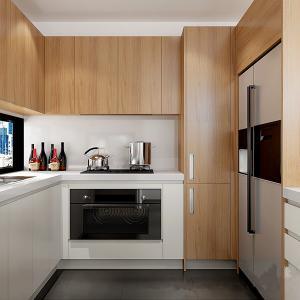 Buy cheap Couleur en bois de blanc de grain de placage de placards en bois traditionnels européens de cuisine product