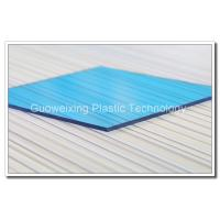 China Colored Solid 4mm 10mm Plastic Polycarbonate Sheet Roofing SGS on sale