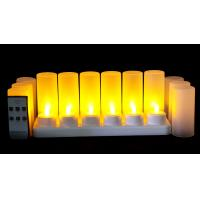 China remote control LED Candle Light/Rechargeable Candle/LED Tealight Candle/Flameless LED Candle on sale