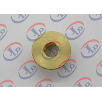 Buy cheap CNC Turning Brass Nut 0.717 In Outer Diameter With Hex Hole High Strength product
