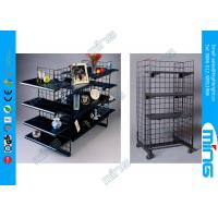 Buy cheap Black Finish Gridwall Display Racks in Powder Coated for Retail Shops product