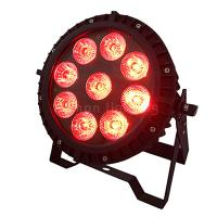 Buy cheap 9x12w RGBW 4 in 1 quad-color Mixing DMX Slim Par Can Light LED IP65 product
