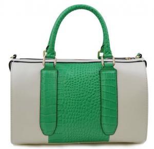 Buy cheap The new handbag leather cylinder shoulder bag Crossbody crocodile embossed leather handbag product