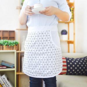 Buy cheap Uniformes de chef de tablier de cuisine de coton de taille avec l'impression de machine from wholesalers