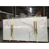 Buy cheap Calacatta Ultra Thin 3200mm×1500mm Large Slab Porcelain Tiles product
