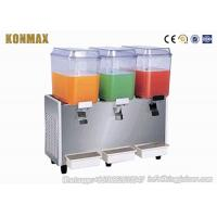 Buy cheap Automatic Frozen Beverage Dispensers With High Capacity For Fruit Juice 9L×3 product