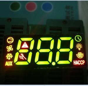 Buy cheap Fridge Control Custom LED Display , 7 Segment Led Display 3 Digit Super Bright product
