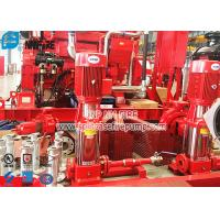 Buy cheap Non Self Priming Contrifugal Fire Fighting Jockey Pump Set 50Hz Vertical Type from wholesalers