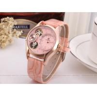 Buy cheap 60g Precise Ladies Automatic Watch Pink With Artificial Diamond product