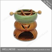 Buy cheap Ceramic Colorful Scented Oil Burner With Common Packaging / High End Gift Box product