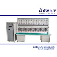 Buy cheap Single phase kwh Meter test bench with 24 meters capable to test with 12 IEC and 12 ANSI product