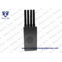 Buy cheap JM132819 3G / 4G Cell Phone Jammer with Fan Radius 5-15M Jamming Rang product