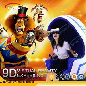 Buy cheap Do simulador panorâmico da realidade 9D virtual da plataforma da rotação mini assentos para o supermercado product