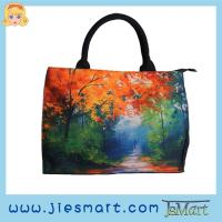 Buy cheap JSMART JOSIE Canvas tote-bag sublimation printing photo bag from wholesalers