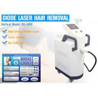 China 810nm Diode IPL Laser Hair Removal Machine With Touch Cooling AC220V - 240V wholesale