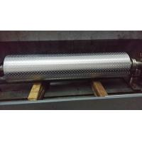 Buy cheap Non - Ferrous Metal / Leatheroid / Leather Embossing Rolls , Knurled Rollers from wholesalers
