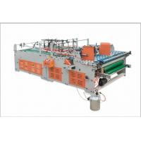 Buy cheap Easy Operate Carton Box Folder Gluer Machine Three Points Gluing Low Noise product