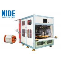 Buy cheap Automatic 4 working stations stator coil winding machine product