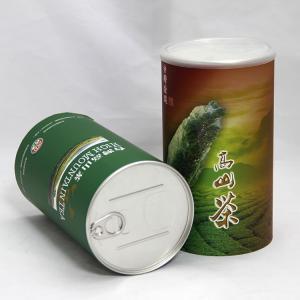 Buy cheap 花の茶、フルーツの茶およびコーヒーのための SGS の食品等級シリンダー ペーパー合成の缶 product