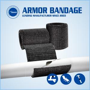 China Emergency Fiberglass Pipe Repair Bandage Cast Armored Tape on sale
