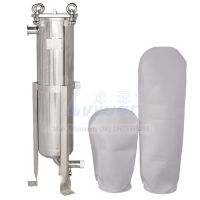 Buy cheap 5 Microns 304 Bag Filter Housings Stainless Steel For Water Liquid Treatment System product
