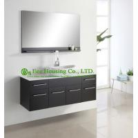 Single Hung Cabinets : Bathroom cabinet luxorious espresso finished single sink