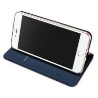 China Dux Ducis mobile phone cover  iPhone 8 Plus case with stand , dark blue wholesale