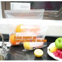 China dried fruit bags with double track Easy Tear zipper, custom FDA food printed poly reclosable double zipper bag, double t on sale