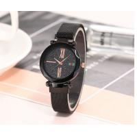Buy cheap 32mm Multi Color Alloy Case Fashion Ladies Fashion Wrist Watch with Magic Mesh Band product