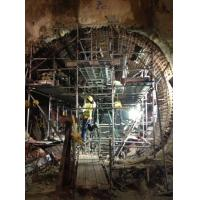 China Concrete wall formwork , steel formwork system for Singapore MRT 919  project on sale