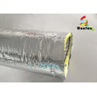 Buy cheap Air Ventilation Flexible HVAC Duct Insulation Wrap Aluminum Foil With Glass Wool product
