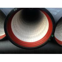 China ISO2531 Standard Cement Lined Pipe Ductile Iron Zinc Bitumen K9 Class on sale