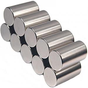 Ímãs do cilindro do boro do ferro do neodímio com propriedade altamente magnética