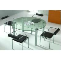 Buy cheap Borosilicate glass processing toughened glass table top Bevel Edge with CE product