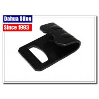 Buy cheap Heavy Duty Ratchet Strap Replacement Hooks , Black Flat Car Tie Down Hooks product